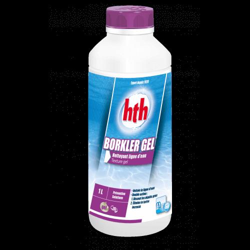 Nettoyant ligne d'eau Borkler Gel HTH - 1L