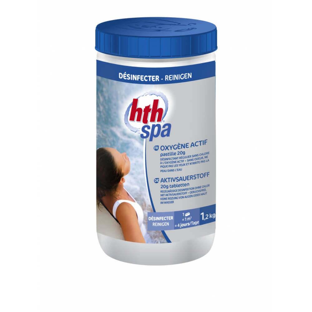 Oxyg ne actif hth pour d sinfection de spa - Traitement piscine oxygene actif ...