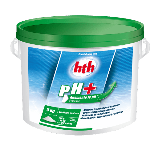 pH PLUS POUDRE HTH - 5Kg