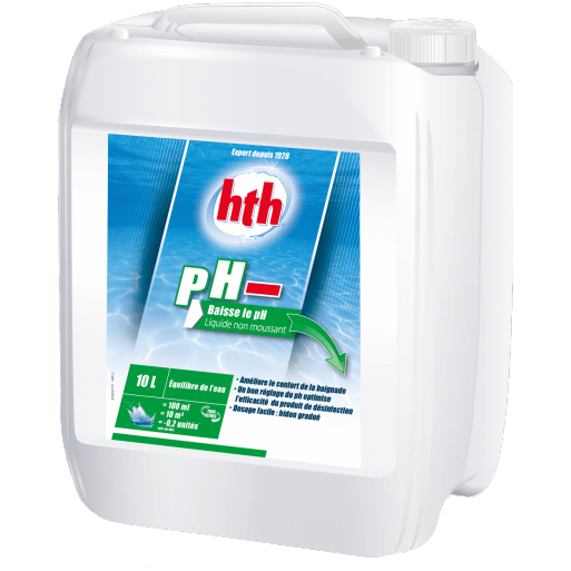 Ph moins piscine ph moins liquide l with ph moins piscine for Ph liquide piscine