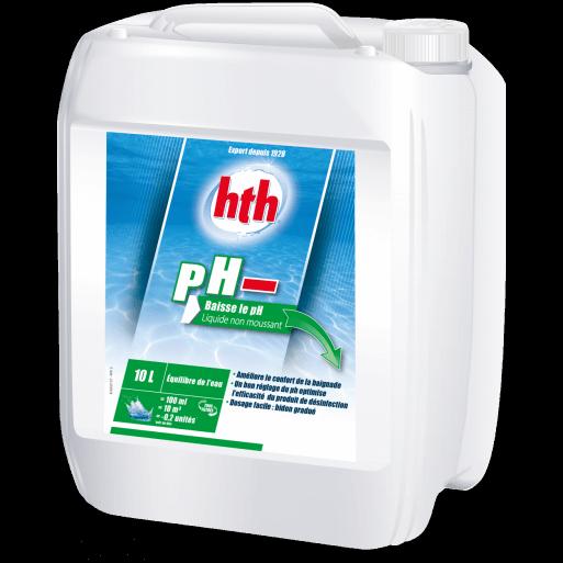Ph moins piscine ph moins liquide l with ph moins piscine for Ph liquide piscine