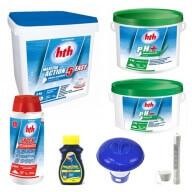 Kit de démarrage HTH pour traitement de piscine