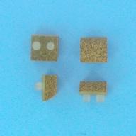 Semelles (4) Liege (Pool Vac/Aquadroid/Aquadroid Elite) - Longueur 24mm (HAYWARD)