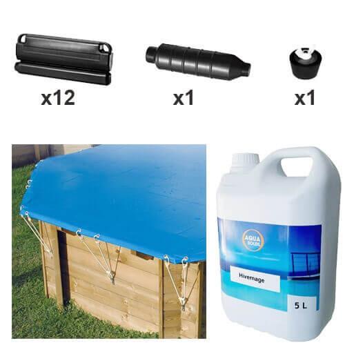 pack hivernage complet piscine hors sol azura 355 x 550. Black Bedroom Furniture Sets. Home Design Ideas