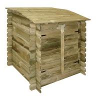Coffre de filtration pour piscines bois