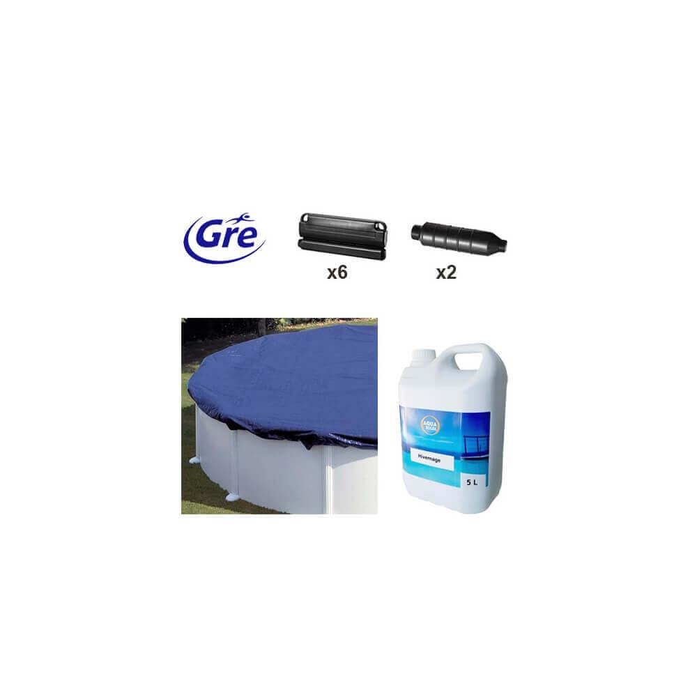 Pack hivernage pour piscine hors sol gre 3 50m ph351 for Piscine hors sol diametre 3 50