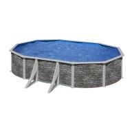 Piscine hors-sol Cerdena 500 x 300 H120 cm - Filtre à sable