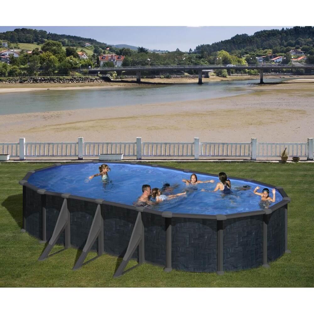piscine hors sol acier rattan 730 x 375 mypiscine. Black Bedroom Furniture Sets. Home Design Ideas