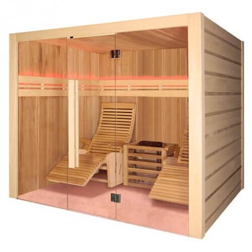 Sauna Holl's Alto Vap - 210 x 190 cm