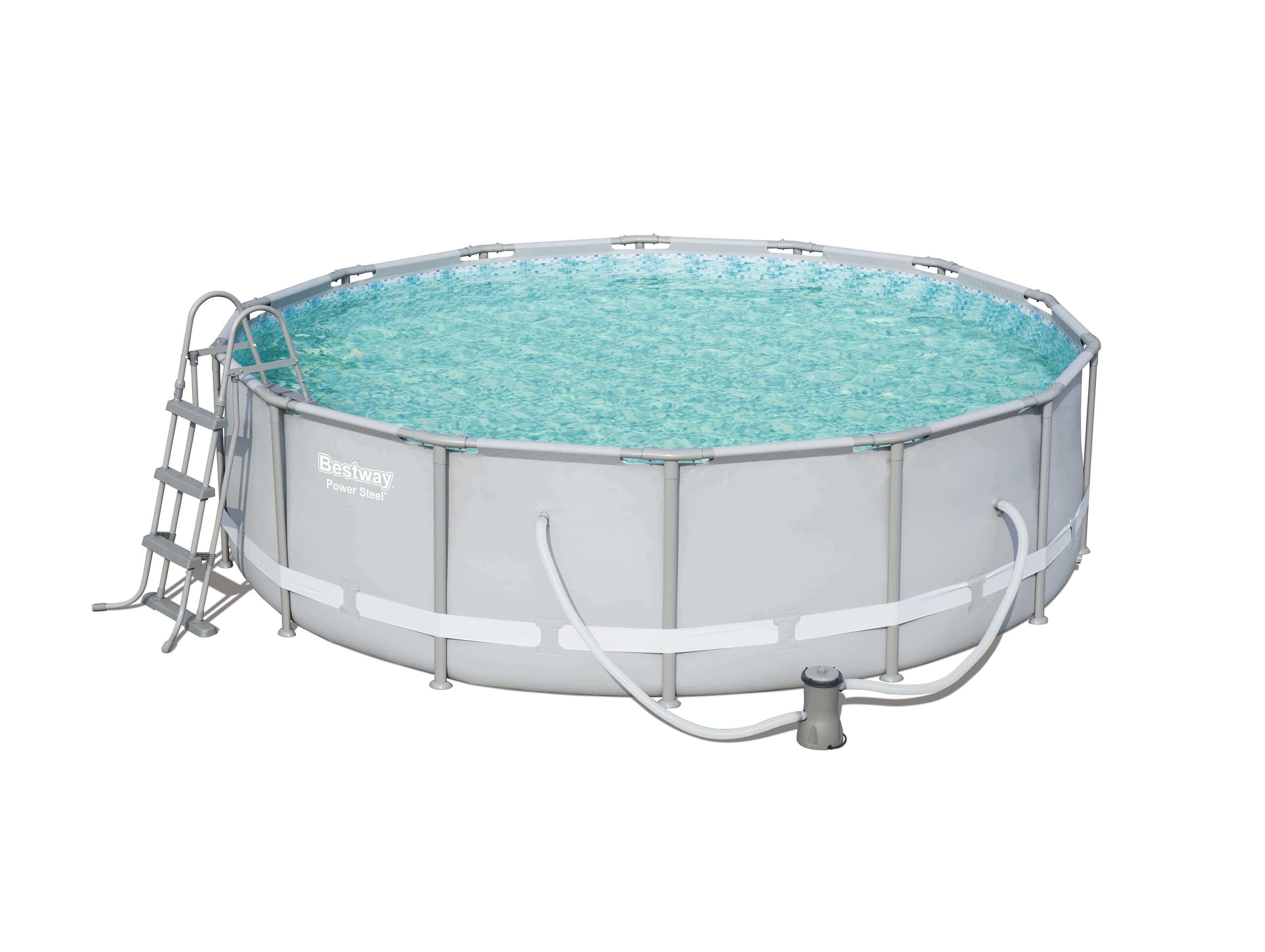 Eclairage Pour Piscine Tubulaire piscine tubulaire Ø427 x h107 cm - power steel