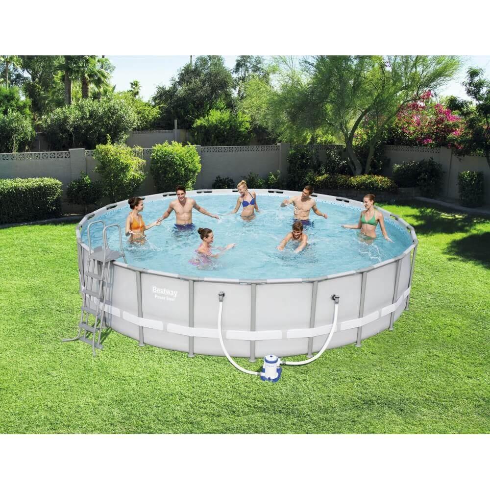 piscine tubulaire bestway 671 x h 132 cm 56705. Black Bedroom Furniture Sets. Home Design Ideas