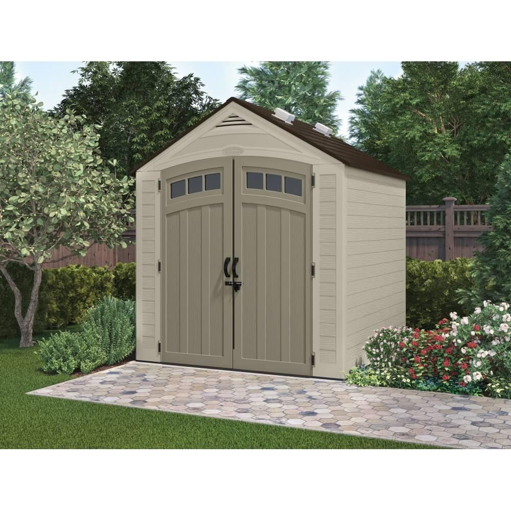 abri de jardin en r sine storeplus 4 84m mypiscine. Black Bedroom Furniture Sets. Home Design Ideas