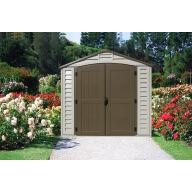 Abri de jardin PVC Duramax Woodstyle - 6,12 m²