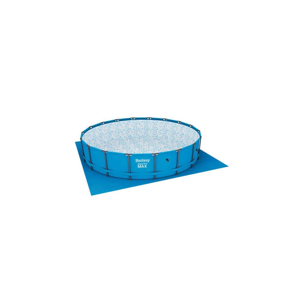 Piscine tubulaire steel pro frame 549 x h122 cm mypiscine for Piscine hors sol ligne bleue
