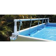 Enrouleur de bâche à bulles pour piscine hors sol Solaris 2