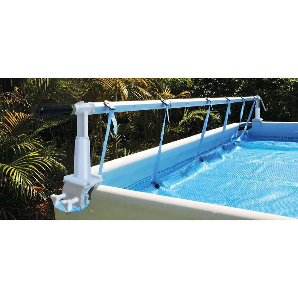 Enrouleur bâche à bulles pour piscine hors sol Solaris 8