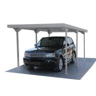 Carport en métal Haut de gamme - 15,58 m²
