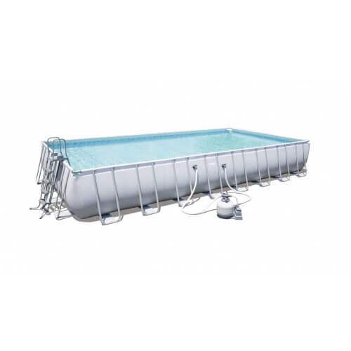 piscine tubulaire bestway 956 x 488 x h 132 cm 56623. Black Bedroom Furniture Sets. Home Design Ideas