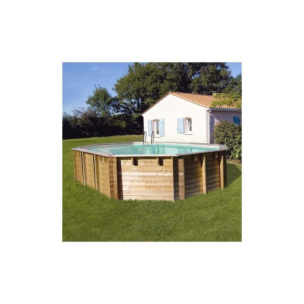 piscine bois vermela