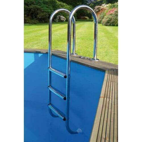 Echelle Inox pour piscine Ubbink