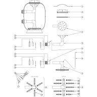 Tube purge d'air Lacron LSR 24 (avant 2004)