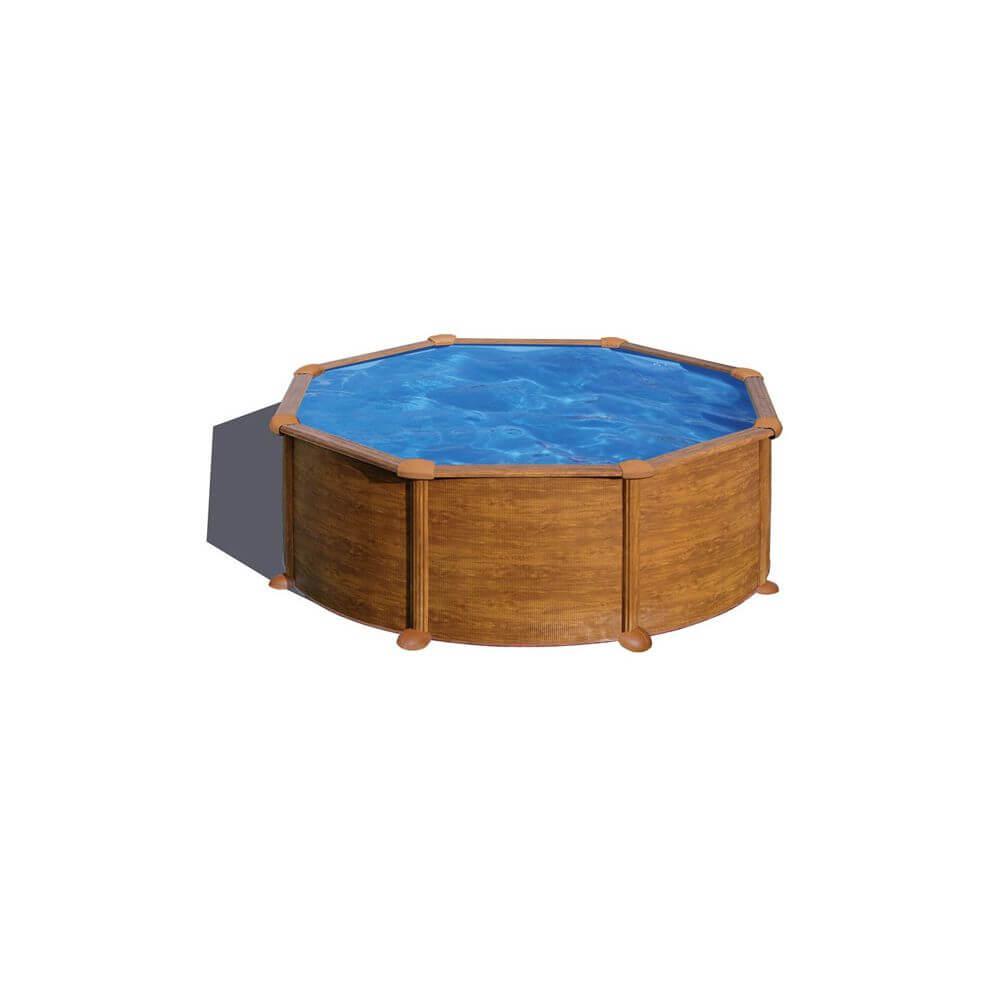 Piscine hors sol mauritius 350 x h132 cm mypiscine for Sable sous piscine hors sol