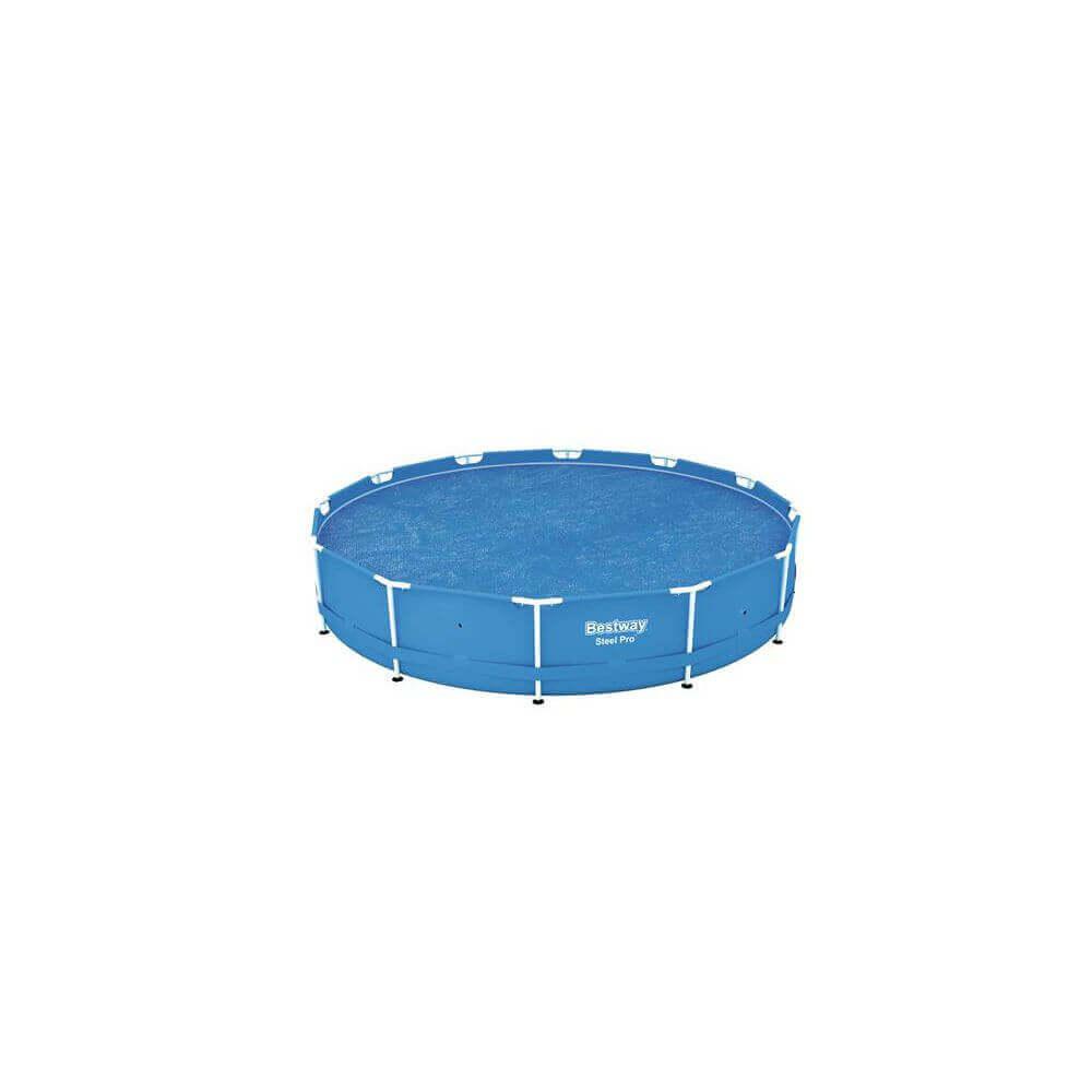 b che bulles piscine bestway 366 cm ronde 58242. Black Bedroom Furniture Sets. Home Design Ideas