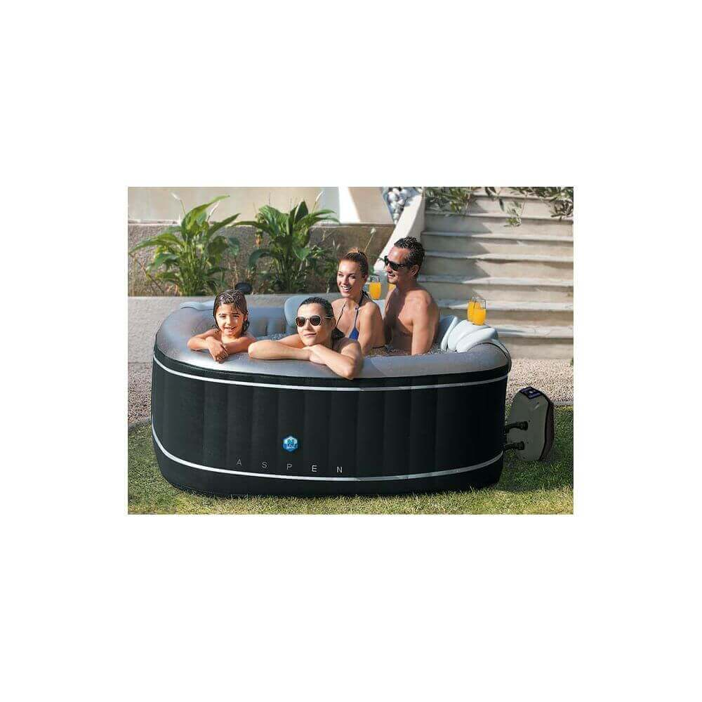 spa gonflable netspa aspen 4 places mypiscine. Black Bedroom Furniture Sets. Home Design Ideas
