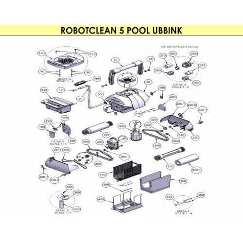 Robinet d'admission (390) - UBBINK RobotClean 5