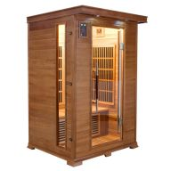 Sauna infrarouge LUXE 2 places