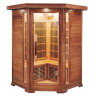 Sauna infrarouge LUXE 2 à 3 places