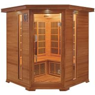 Sauna infrarouge LUXE 3 à 4 places