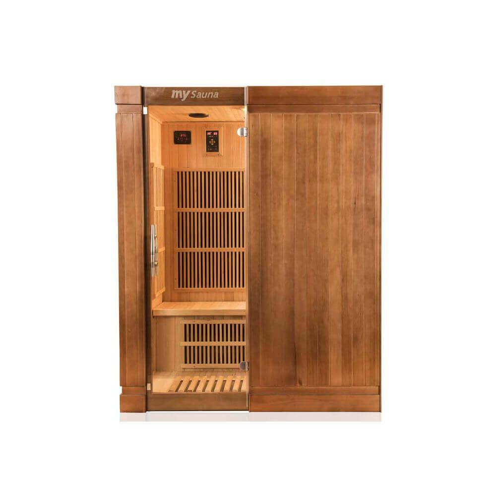 sauna infrarouge france sauna sol a 3 places mypiscine. Black Bedroom Furniture Sets. Home Design Ideas
