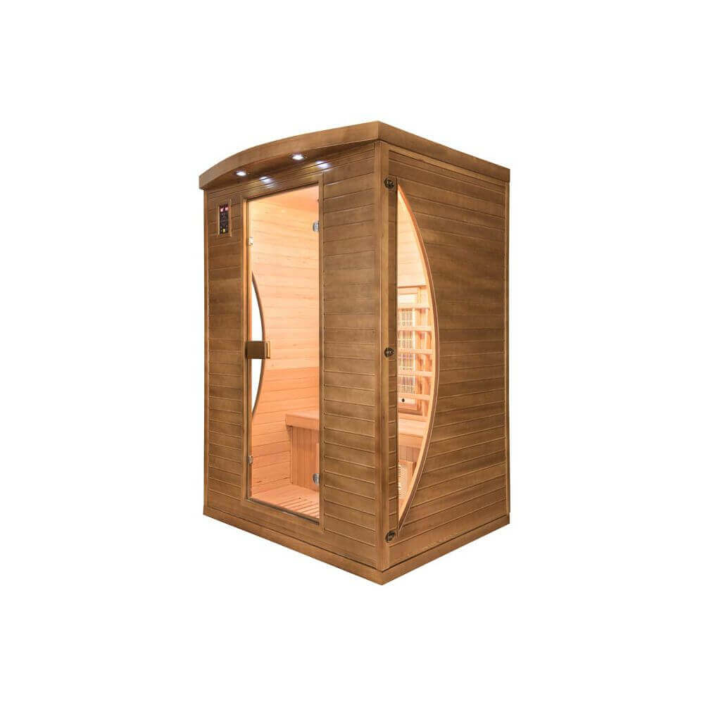 sauna infrarouge spectra 2 places mypiscine. Black Bedroom Furniture Sets. Home Design Ideas