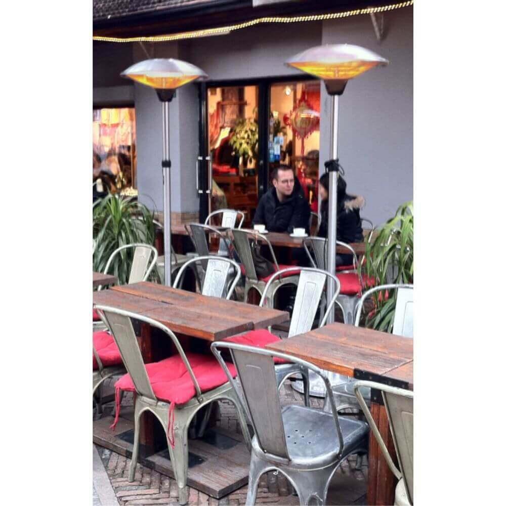 chauffage ext rieur milan 2 0 parasol chauffant r tractable. Black Bedroom Furniture Sets. Home Design Ideas