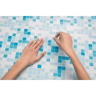 Lot de 10 patchs de réparation pour piscines hors-sol - 6,25 x 6,5 cm