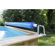 Enrouleur pour bâche à bulles Premium - Largeur max. 5,50m