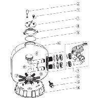 Socle pour filtre ACIS P400