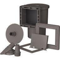 Skimmer pour piscines GRE - 14,6 x 14,1 cm - Gris
