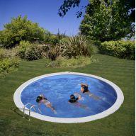 Kit piscine enterrée Sumatra Ø420 x H120 cm