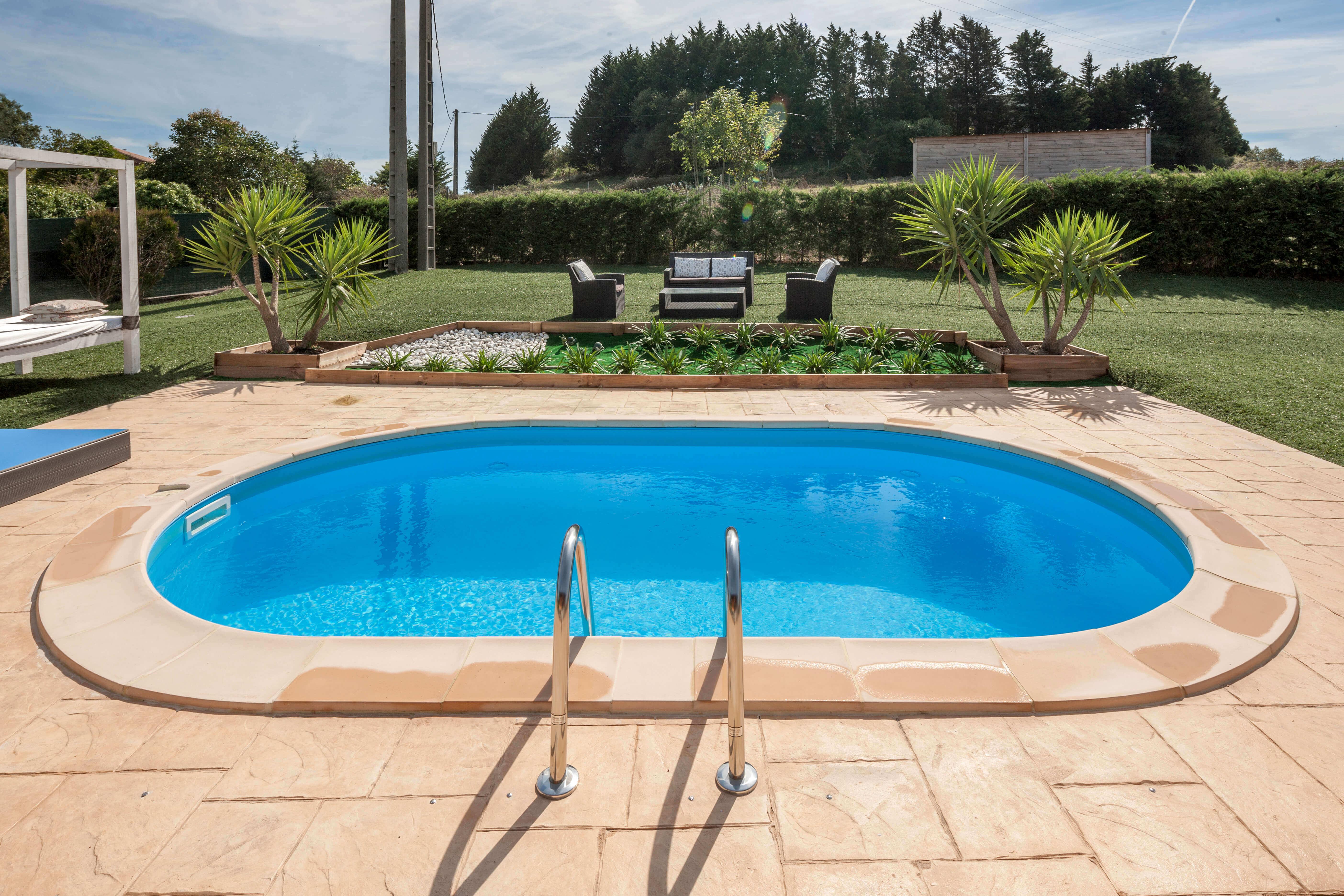 Mettre Piscine Sur Terrain En Pente piscine enterrée 500 x 300 x h150 cm - madagascar