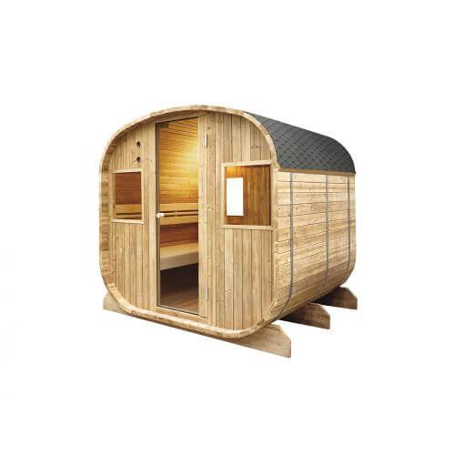 Sauna Extérieur Barrel Vapeur - 6 places