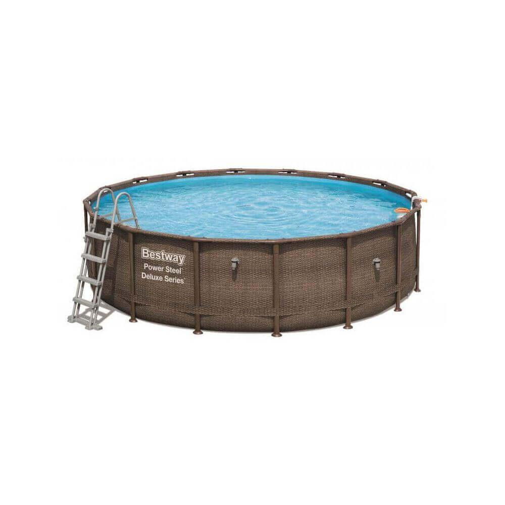 piscine hors sol effet tress 427 x 107 cm. Black Bedroom Furniture Sets. Home Design Ideas