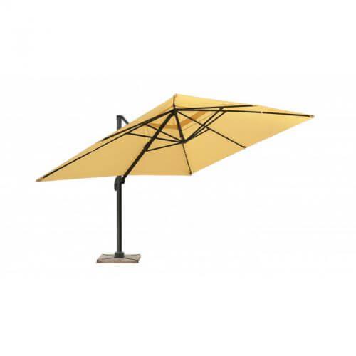 Parasol sable déporté - 3 x 4 m