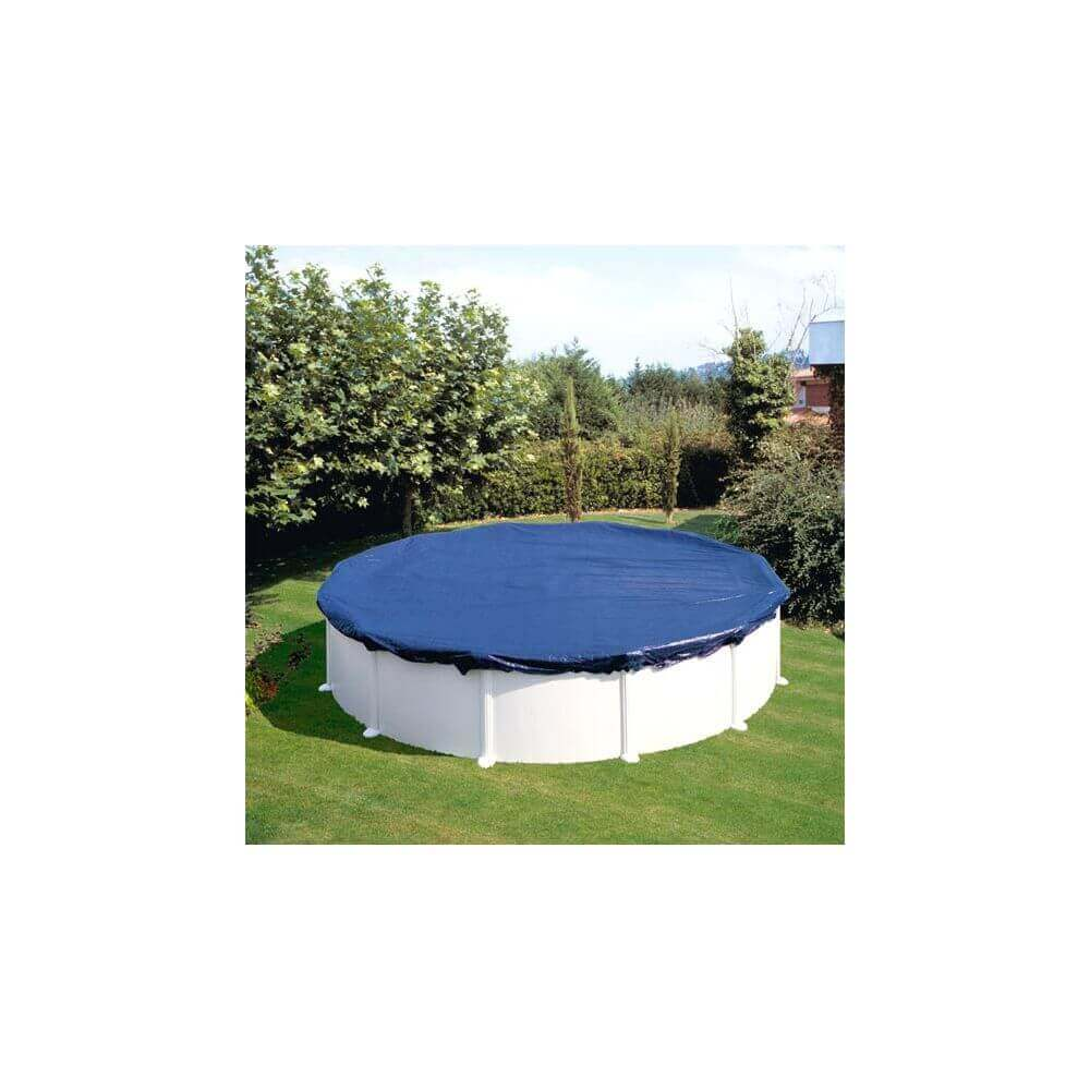 B che d 39 hivernage pour piscine gre ronde 4 m - Bache hivernage piscine hors sol ronde ...