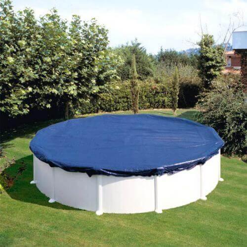 B che d 39 hivernage piscine gr 550 cm ronde mypiscine - Bache hivernage piscine hors sol ...