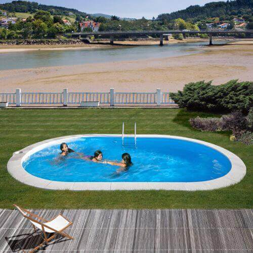 Piscine enterr e en kit 600 x 320 x h120 cm mypiscine - Piscine enterree en kit ...