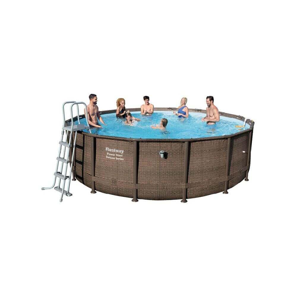piscine hors sol effet tress 488 x 122 cm. Black Bedroom Furniture Sets. Home Design Ideas