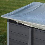 Bâche hiver piscine composite Gré 2,28 x 2,28 cm