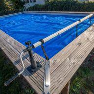 Enrouleur pour piscine hors-sol 5,80 m